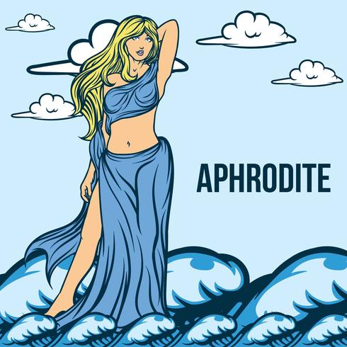 Aphrodite Illustration Vector