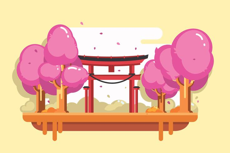 Free Shrine Vector