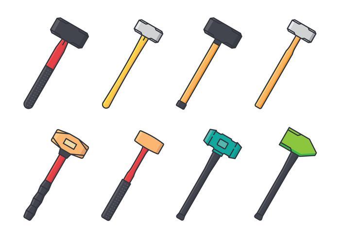 Sledgehammer Icon Set