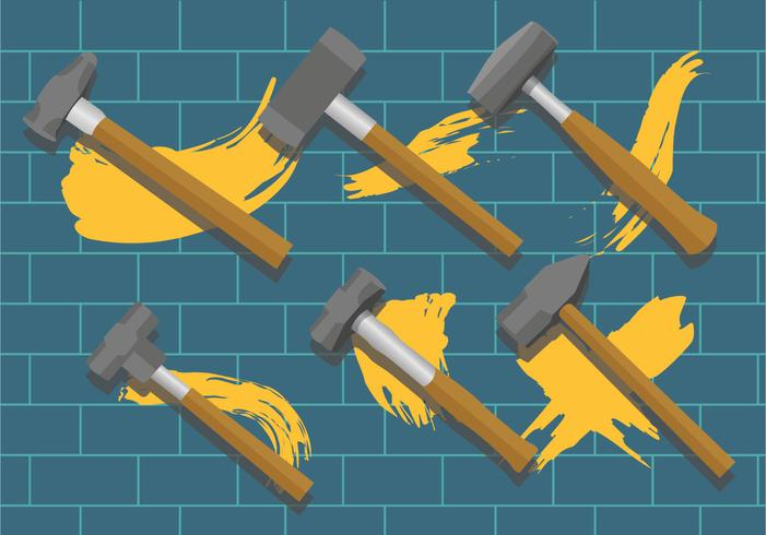 Pacote do vetor Sledgehammer
