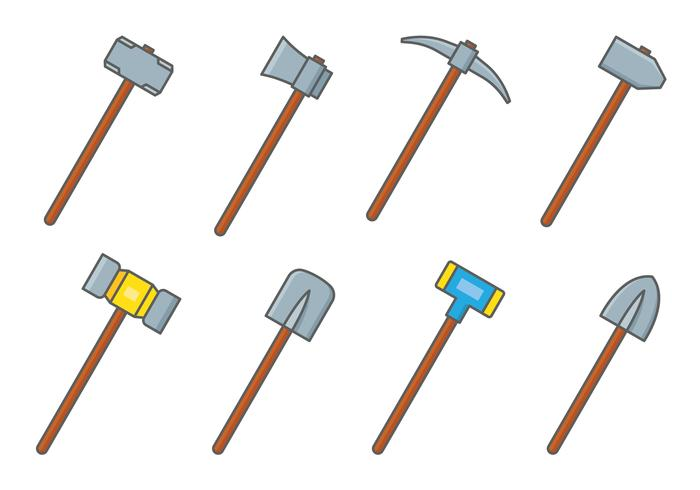 Sledgehammer Tools Set