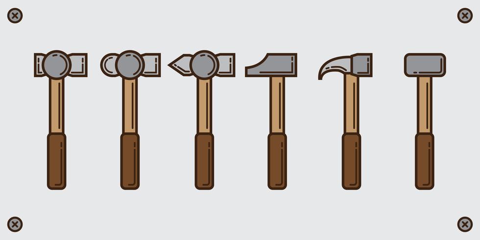 Sledge hammer line pack