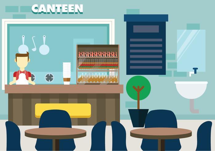 Canteen Vector Design