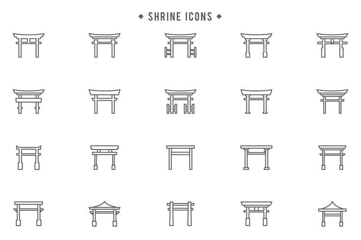 Free Shrine Vectors