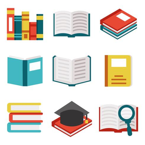 Free Books / Libro Icons Vector