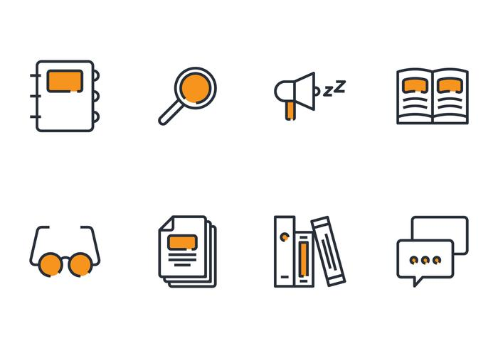 Library Linear Icon