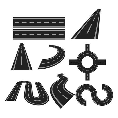 Free Asphalt Road Highway Vector