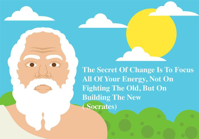 Socrates Background Vector