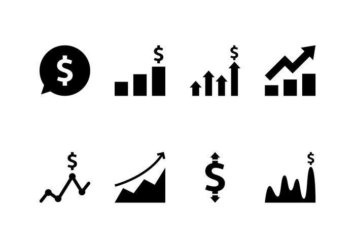 Inkomster Icon Set