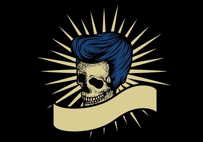 Skull Greaser Badge