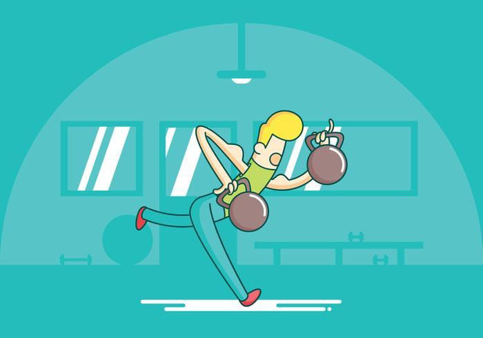 Kettlebell Swings Exercise