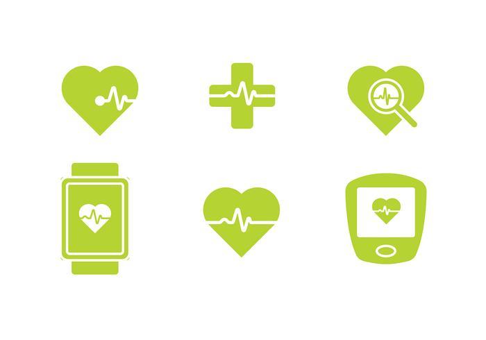 Heart Rhythm Icon Gratis Vector
