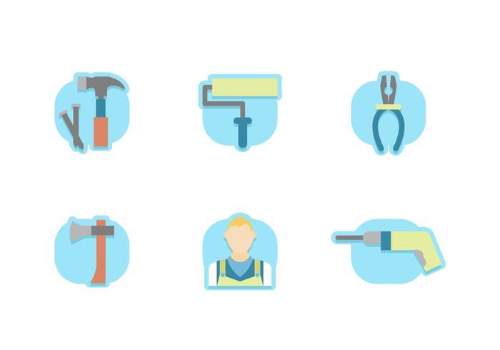 Caretaker Icons Free Vector Pack