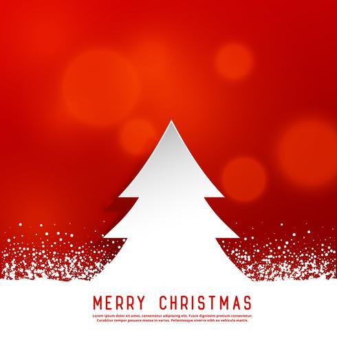Beautiful Christmas Background Design.Beautiful Christmas Background With Tree And Snow Download