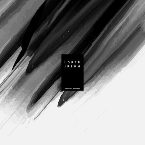 svart akvarell bakgrund gjord med färg pensel stroke