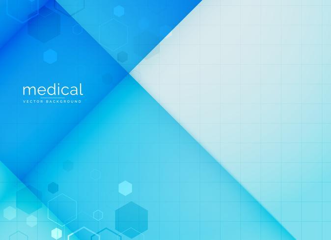 abstrakt medicinsk bakgrund i blå färg