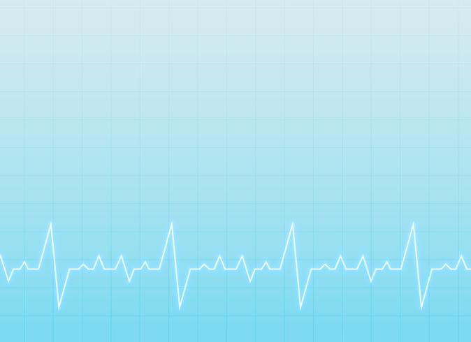 medical and healthcare background with electrocardiogram