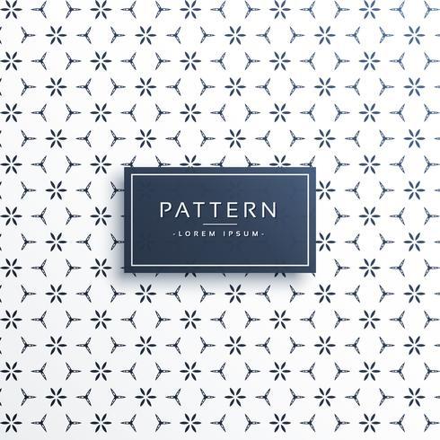 stylish minimal flower abstract pattern background