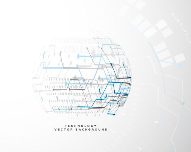 concept de design d'innovation de technologie numérique