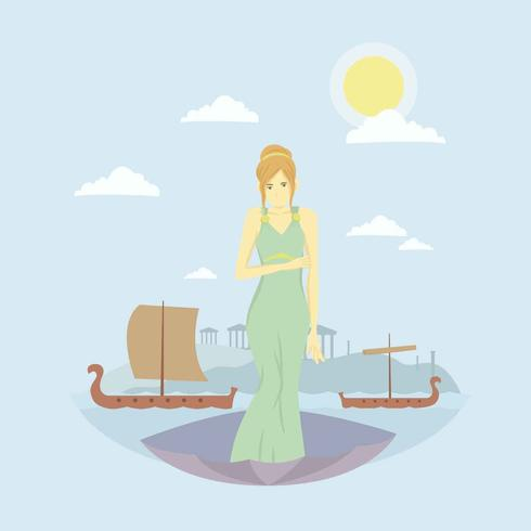 Free Aphrodite God Illustration