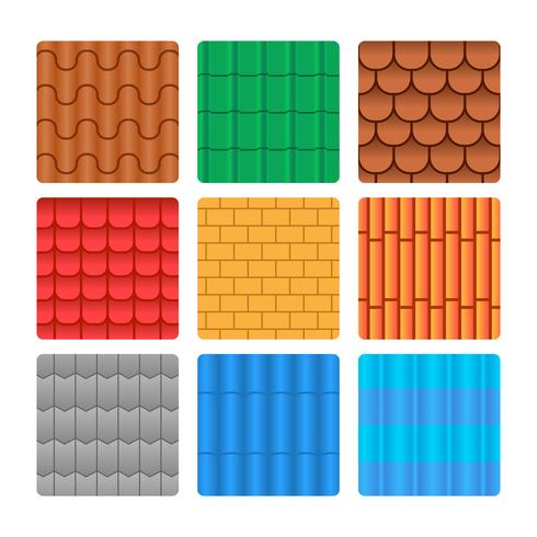 Free Roof Tile Pattern Collection