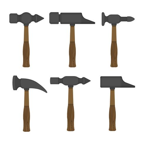 Samling av Sledgehammer Vector Items