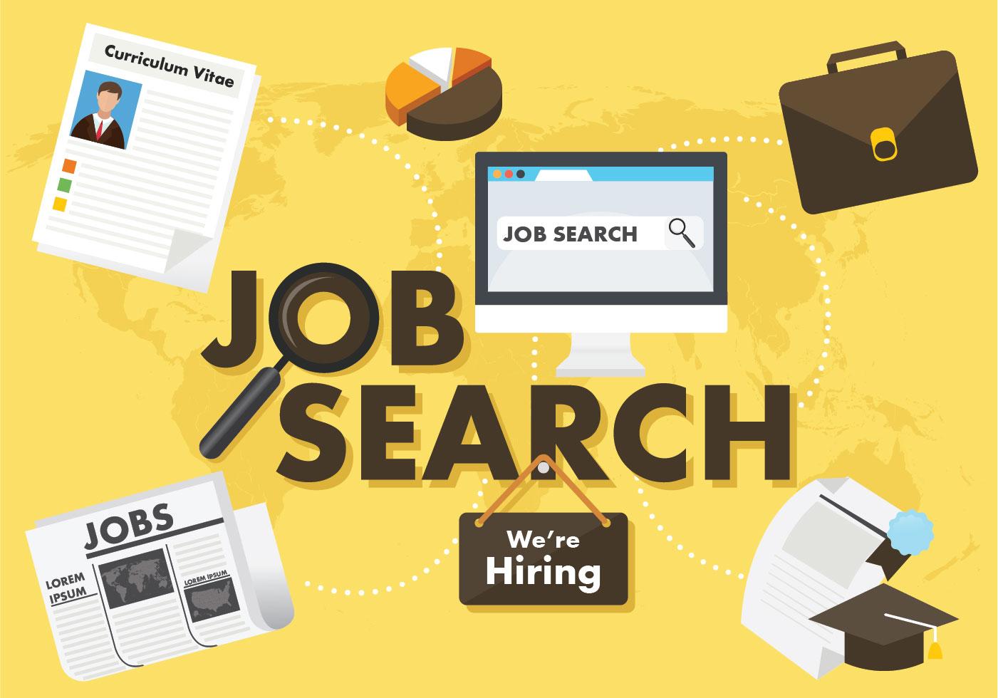 Job Search Vector Design Download Free Vectors Clipart