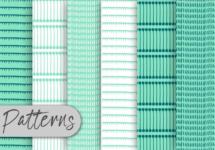 Mint Decor Pattern Set