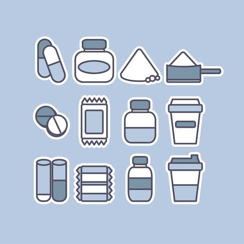 Vector Supplements Icons