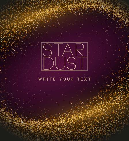 Vector Stardust Background