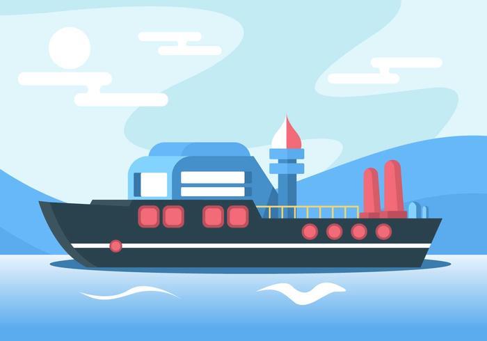 skeppsvektor