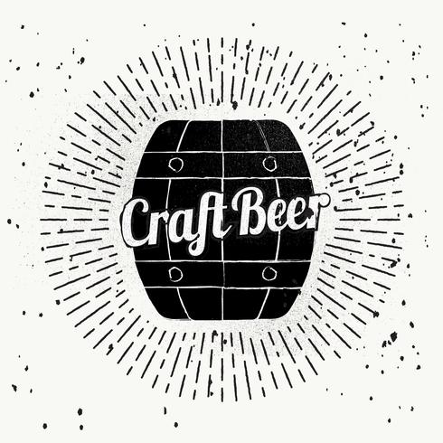 Free Hand Drawn Beer Vector Background