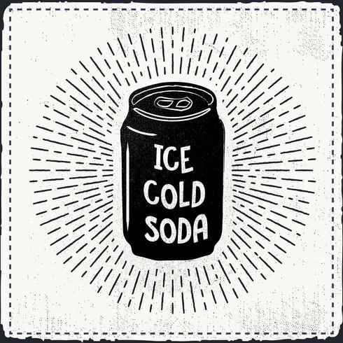 Free Hand Drawn Soda Vector Background