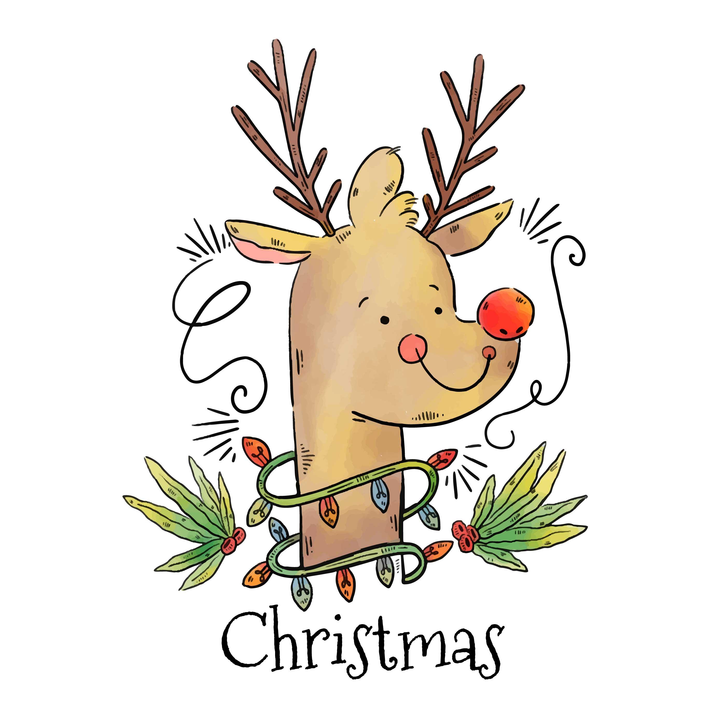 Rudolph Free Vector Art 5453 Free Downloads