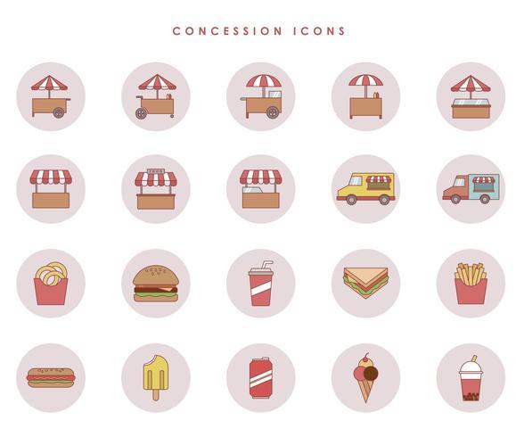 Free Concession Vectors