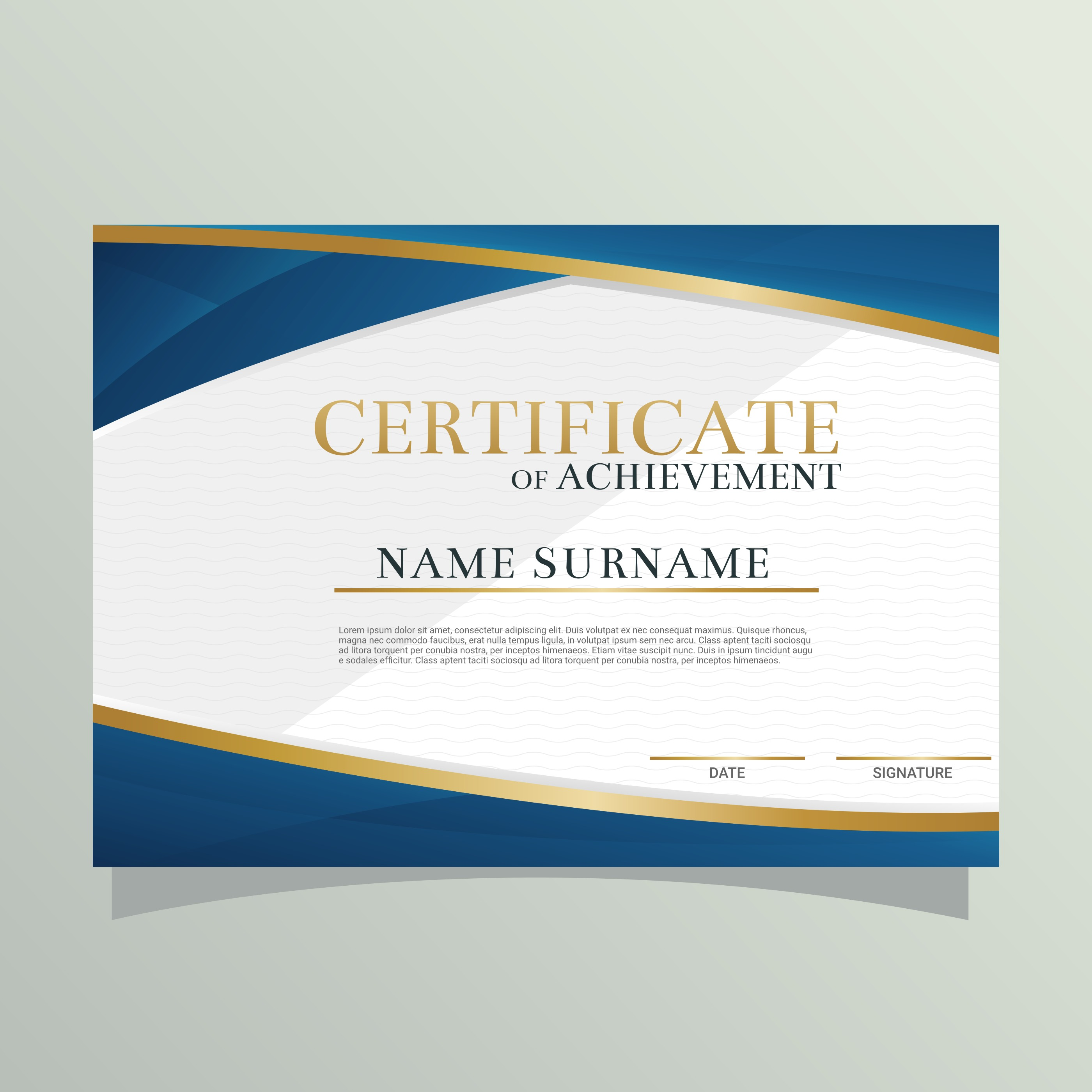 Diploma Certificate Vector - Download Free Vector Art ...