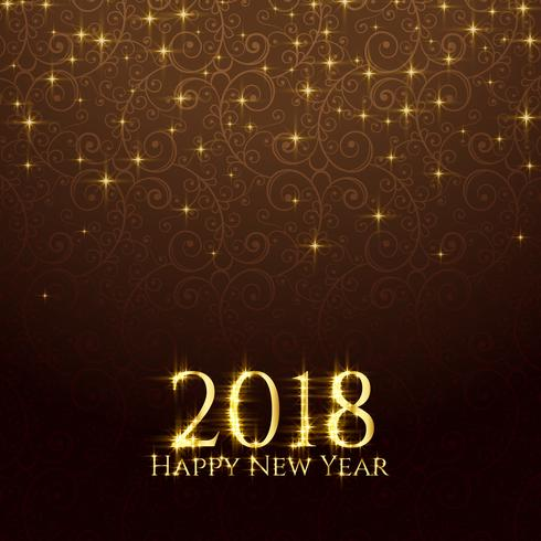 2018 shiny glitter sparkles new year background