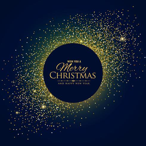 fantastisk glitter bakgrund med jul och nyår önskningar