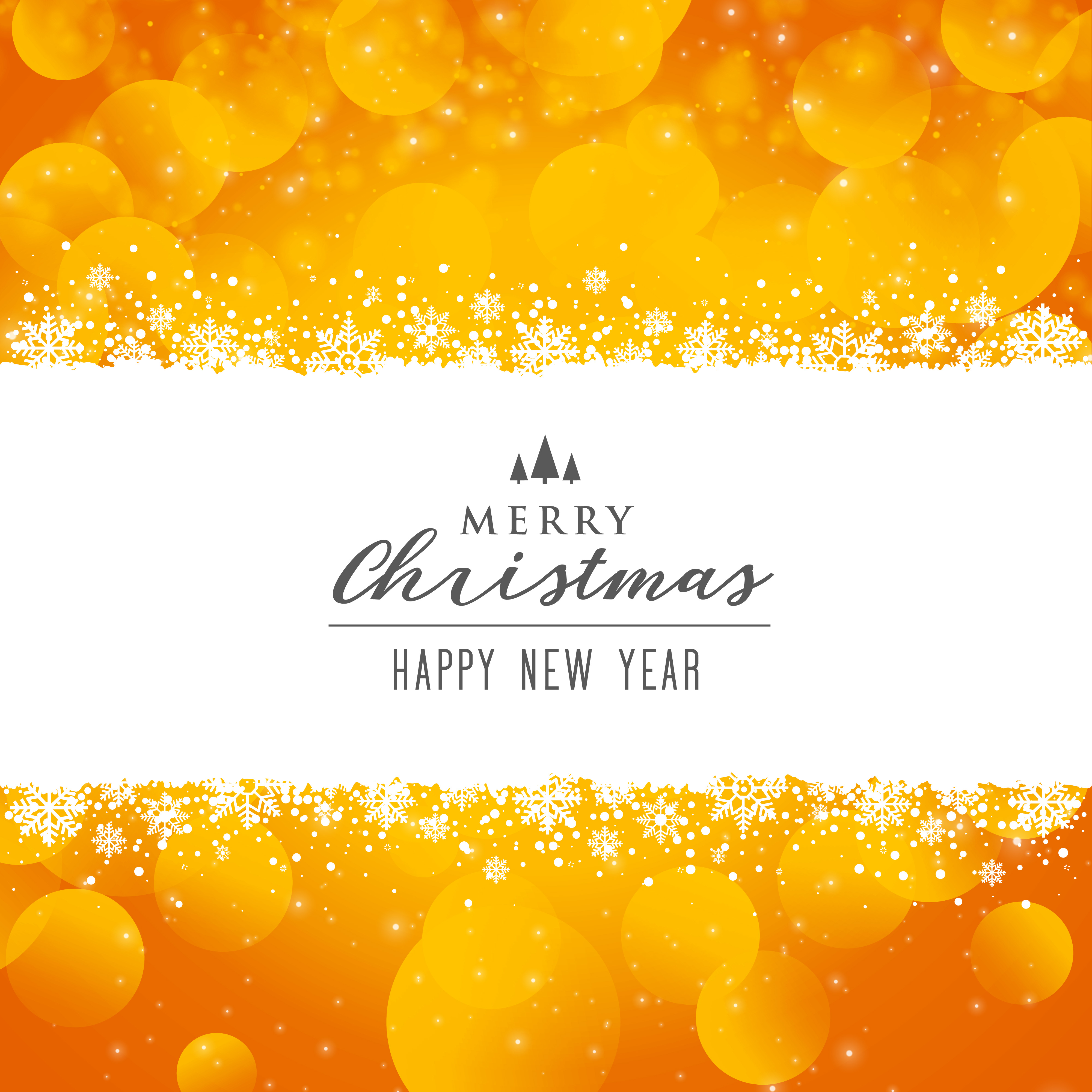 awesome bright merry christmas festival background