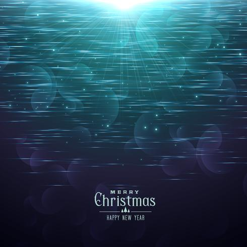 shiny christmas background in blue shade