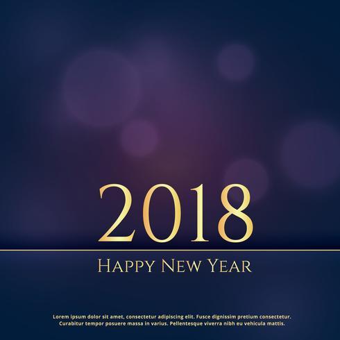Elegant premium 2018 new year greeting card design background elegant premium 2018 new year greeting card design background m4hsunfo