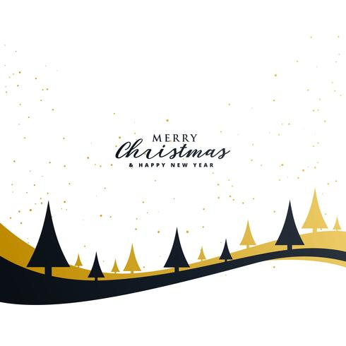 minimal merry christmas premium greeting design