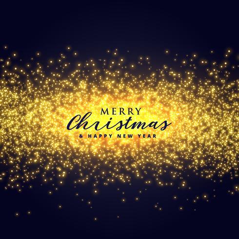 Gold funkelt abstrakten Hintergrund für Weihnachten festiv