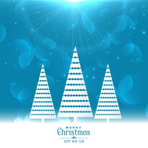 merry christmas holiday greeting card design
