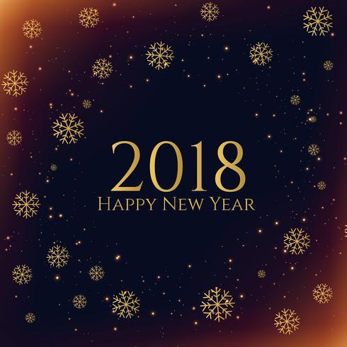 dark snowflakes 2018 new year season background