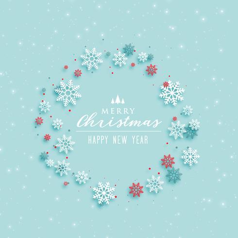 merry christmas elegant greeting design background