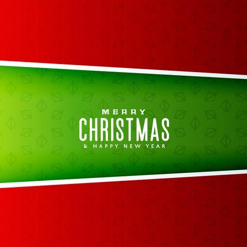 Vrolijk kerstfeest achtergrond ontwerp illustratie