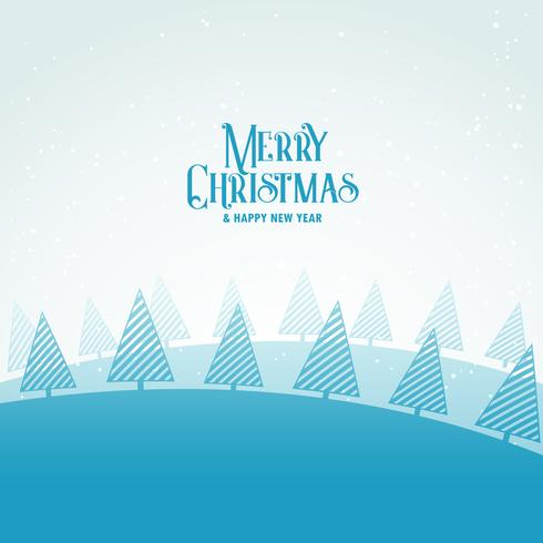 creative christmas winter seasonal greeting card design with lin