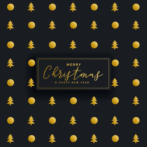premium dark christmas pattern design background
