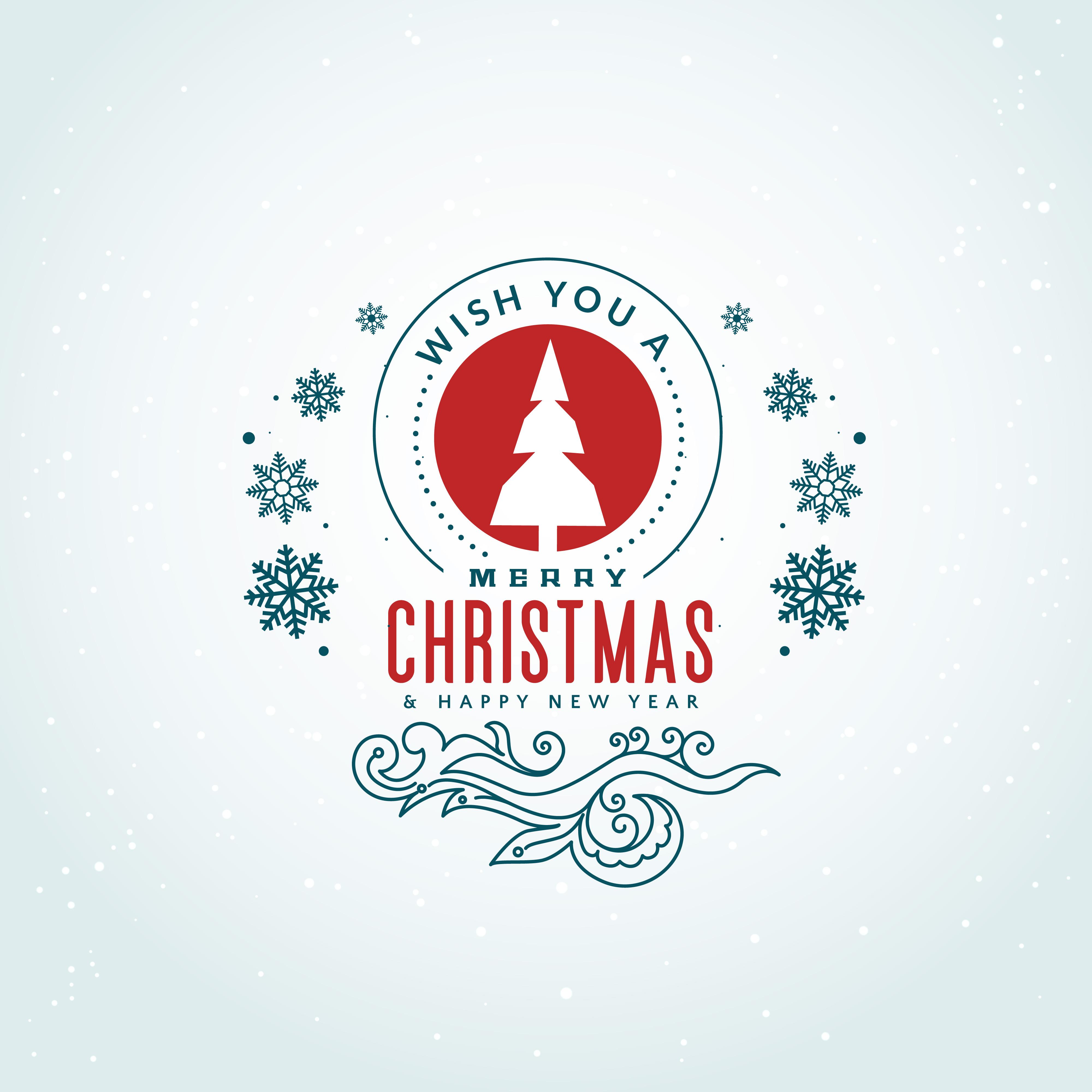 merry christmas design drawings
